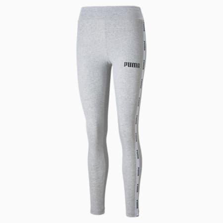 Tape Women's Leggings, Light Gray Heather, small