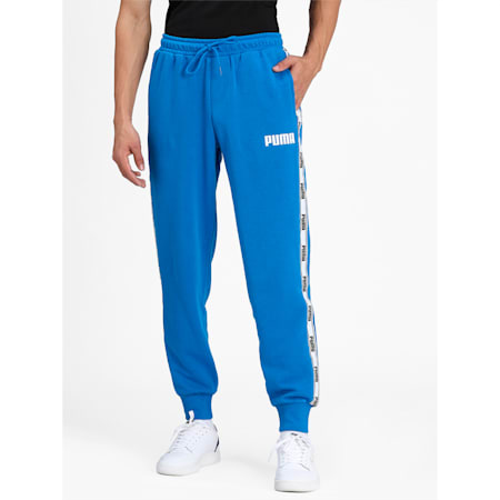 Tape French Terry Men's Pants, Puma Royal, small-IND