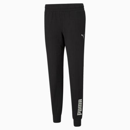 RTG Regular Fit Women's Sweat Pants, Puma Black, small-IND