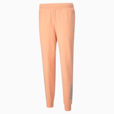 RTG Regular Fit Women's Sweat Pants, Apricot Blush, small-IND