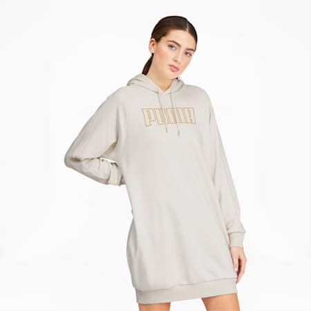 Modern Basics Women's Dress, Vaporous Gray-Gold, small