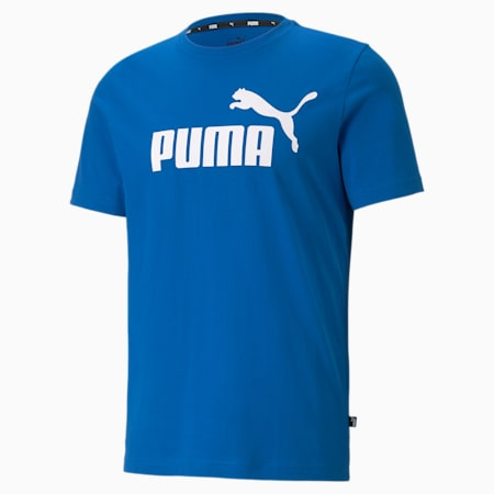 Essentials Logo Men's Tee, Puma Royal, small