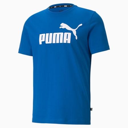 Essentials Logo Men's Tee, Puma Royal, small-GBR