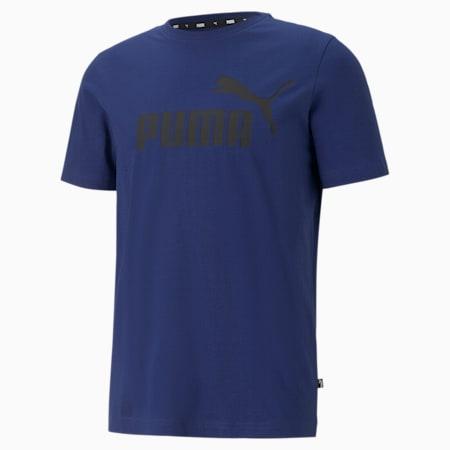 Camiseta para hombre Essentials Logo, Elektro Blue, small