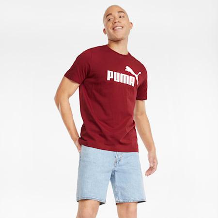 T-shirt Essentials Logo homme, Intense Red, small