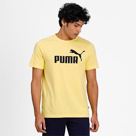 Essentials Logo Regular Fit Men's  T-shirt, Celandine, small-IND