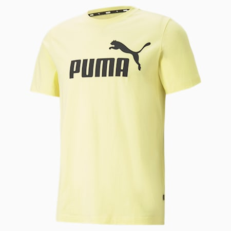 Camiseta para hombre Essentials Logo, Yellow Pear, small