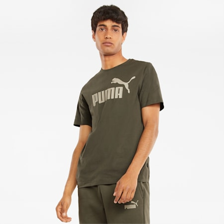 T-shirt Essentials Logo homme, Grape Leaf, small
