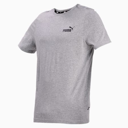 Essentials Small Logo Regular Fit Men's  T-shirt, Medium Gray Heather, small-IND