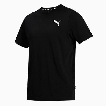 Essentials Small Logo Regular Fit Men's  T-shirt, Puma Black-Cat, small-IND