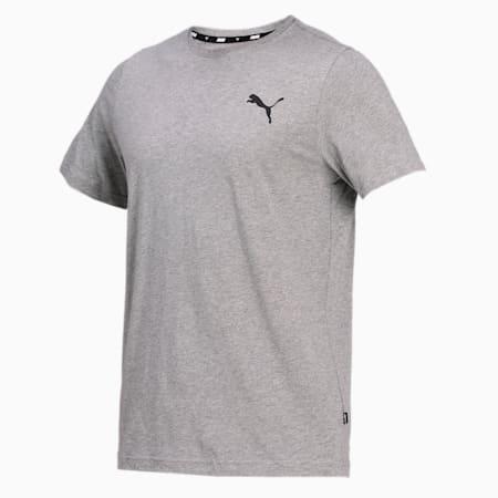Essentials Small Logo Regular Fit Men's  T-shirt, Medium Gray Heather-Medium Gray Heather-Cat, small-IND
