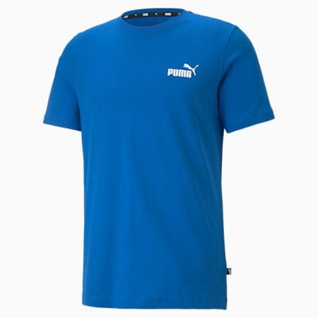 Essentials Small Logo Men's Tee, Puma Royal, small-GBR