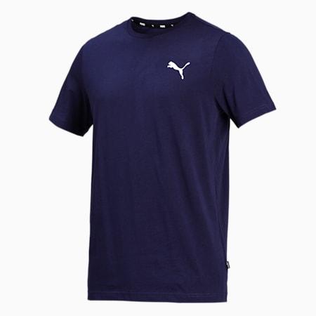 Essentials Small Logo Regular Fit Men's  T-shirt, Peacoat-Cat, small-IND