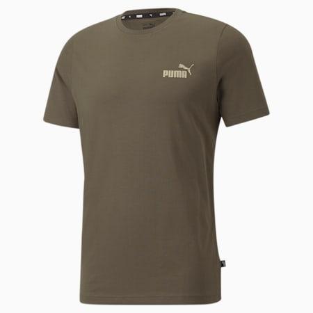 Essentials Small Logo Regular Fit Men's  T-shirt, Grape Leaf, small-IND