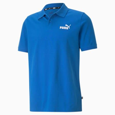 Essentials Pique Men's Polo Shirt, Puma Royal, small