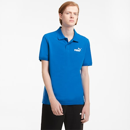 Essentials Pique Men's Polo Shirt, Puma Royal, small-GBR