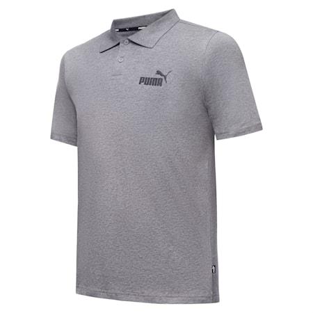 Essentials Men's Polo Shirt, Medium Gray Heather, small-SEA