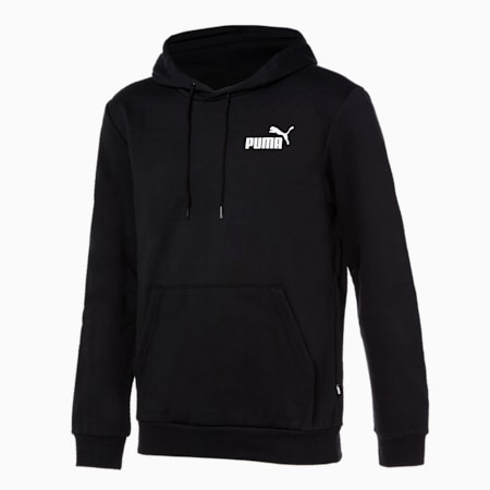 에센셜 스몰 로고 후디/ESS Small Logo Hoodie, Puma Black, small-KOR