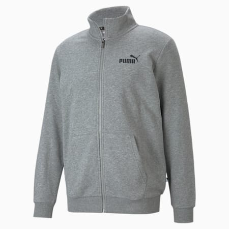 Essentials Men's Track Jacket, Medium Gray Heather, small-GBR