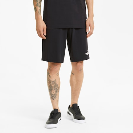 Short en jersey Essentials homme, Puma Black, small