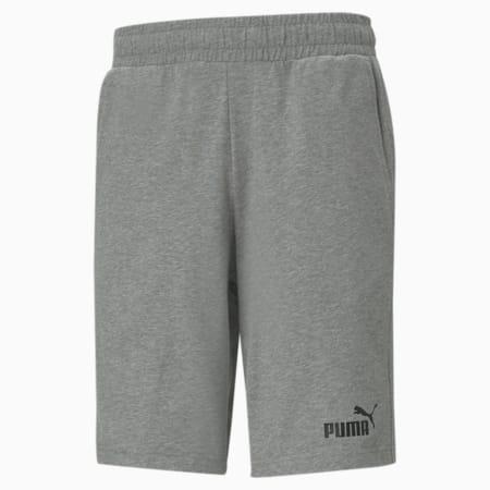 Essentials Jersey Men's Shorts, Medium Gray Heather, small