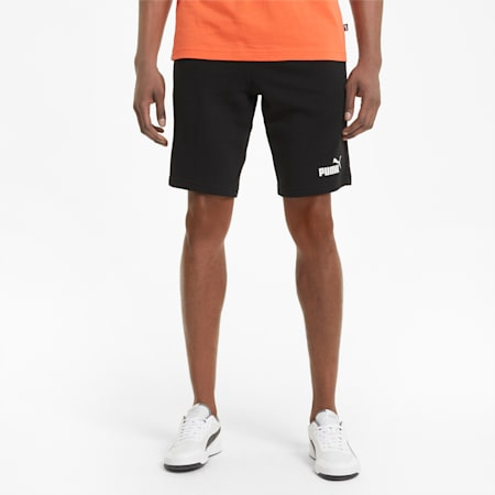 Essentials Men's Shorts, Puma Black, small-GBR