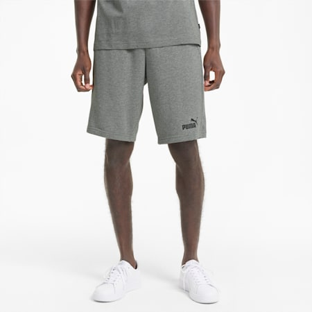 Essentials Herren Shorts, Medium Gray Heather, small