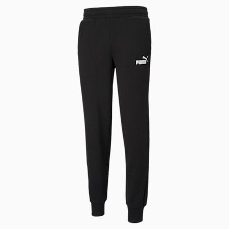 Essentials Logo Men's Sweatpants, Puma Black, small
