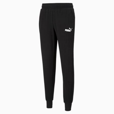 에센셜 로고 팬츠/ESS Logo Pants, Puma Black, small-KOR