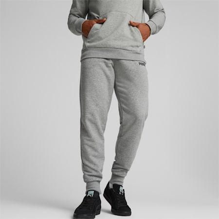 Essentials Logo Herren Sweatpants, Medium Gray Heather, small