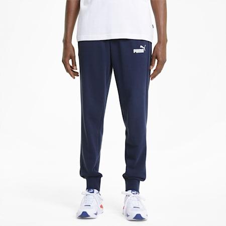 Pantaloni con logo Essentials uomo, Peacoat, small