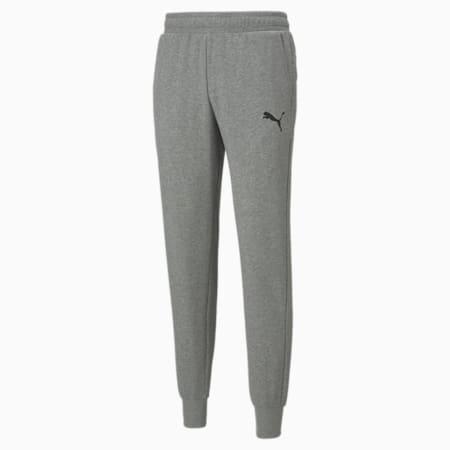 Essentials Logo Men's Sweatpants, Medium Gray Heather-Cat, small-SEA