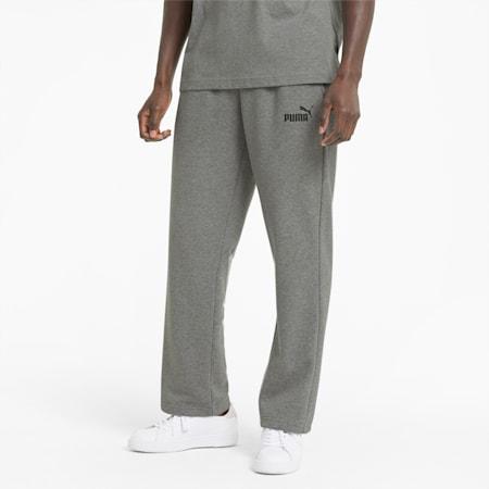 에센셜 로고 테리 팬츠/ESS Logo Pants, Medium Gray Heather, small-KOR