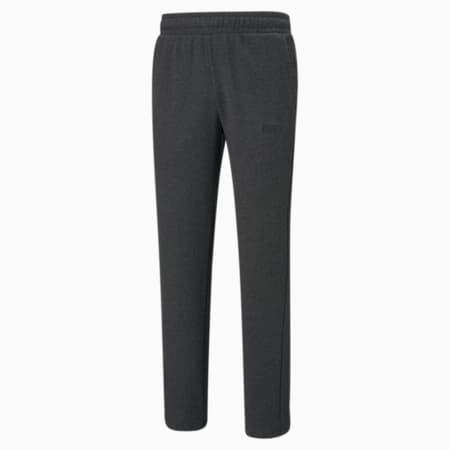 에센셜 로고 테리 팬츠/ESS Logo Pants, Dark Gray Heather, small-KOR