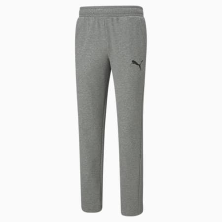 에센셜 로고 테리 팬츠/ESS Logo Pants, Medium Gray Heather-Cat, small-KOR