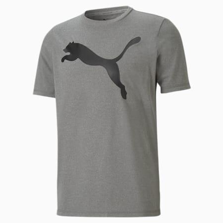 Camiseta Active Big Logo para hombre, Gray Violet, small