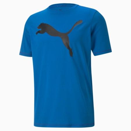 Active Big Logo Men's  T-shirt, Puma Royal, small-IND