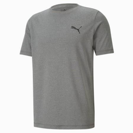 Active Small Logo Regular Fit Men's T-shirt, Gray Violet, small-IND