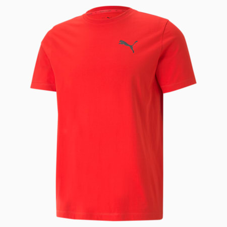 Active Soft Men's Tee, High Risk Red, small