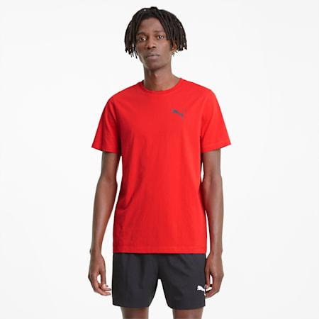 Zacht Active T-shirt heren, High Risk Red, small