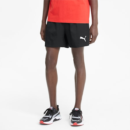 "Active Woven 5"" Men's Shorts, Puma Black, small-IND"