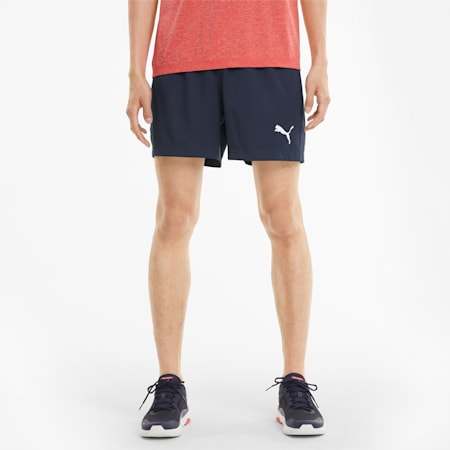 """Active Woven 5"""" Men's Shorts, Peacoat, small-IND"""