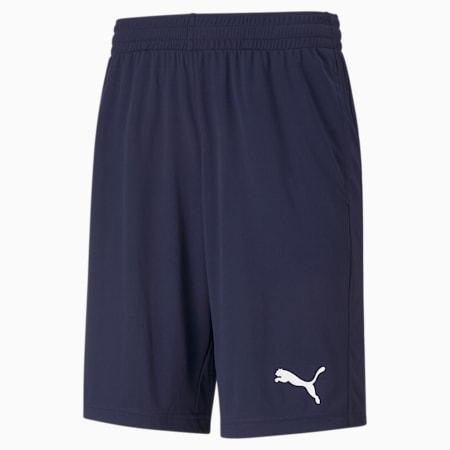 Active Interlock Regular Fit Men's Shorts, Peacoat, small-IND