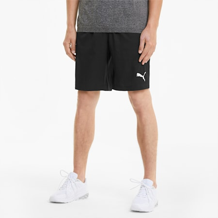 "Active Woven 9"" Men's Shorts, Puma Black, small"