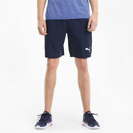 "Active Woven 9"" Men's Shorts, Peacoat, small"