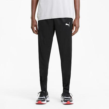 Pantaloni con finitura tricot Active uomo, Puma Black, small