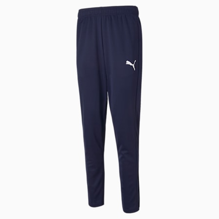 Active Tricot Slim Fit Men's Sweat Pants, Peacoat, small-IND
