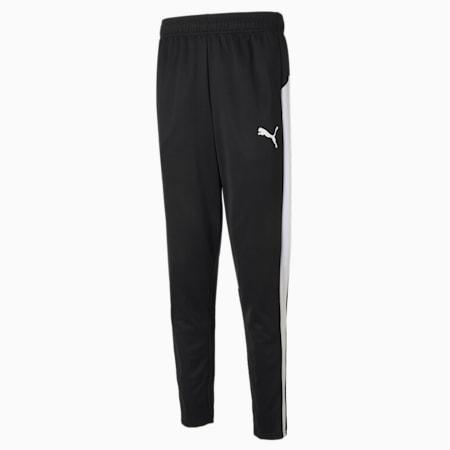 Active Tricot Slim Fit Men's Sweat Pants, Puma Black-Puma White, small-IND