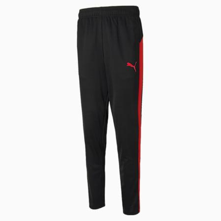 Active Tricot Slim Fit Men's Sweat Pants, Puma Black-Ribbon Red, small-IND