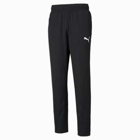 Active Woven Men's Regular Sweat Pants, Puma Black, small-IND